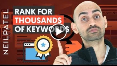How to Rank for Thousands of Keywords Without Building Links - Thumbnail
