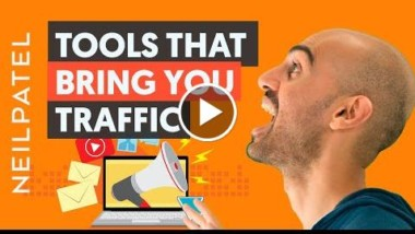 7 Marketing Tools That'll Instantly Boost Your Traffic | Neil Patel - Thumbnail