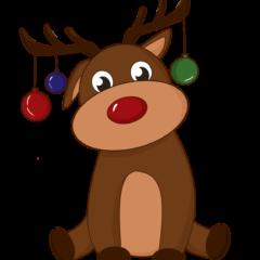 Deer Swag Ornaments New Year S Eve  - NastasyaDay / Pixabay