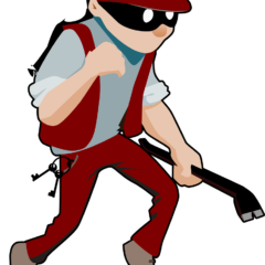 Burglar Thief Criminal Crime Man  - Clker-Free-Vector-Images / Pixabay