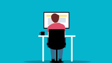 Man Employee Computer Monitor  - mohamed_hassan / Pixabay