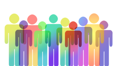 Personal Group Silhouettes Colorful  - geralt / Pixabay